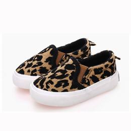 1270f2851 Zapatos de primavera para niños Niños Niñas Zapatos casuales Estampado de  leopardo Moda Zapatos de lona cómodos Zapatillas de deporte para niños  Mocasines