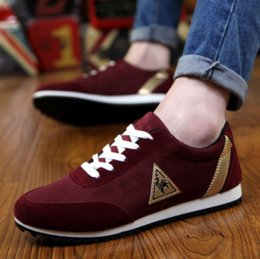 Discount fashion casual shoes for males - 2019 New Mens Casual Shoes Canvas Shoes for Men Lace-up Breathable Fashion Summer Autumn Flats Fashion Male