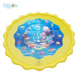 $enCountryForm.capitalKeyWord Australia - In stock hot sell summer inflatable water toys outdoor sprinkle splash mat games