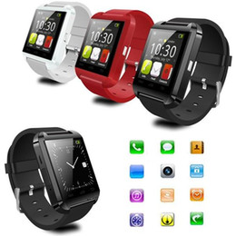 $enCountryForm.capitalKeyWord Australia - U8 Bluetooth Smart Watch IOS Mobile Phone Pedometer Pedometer and Touch Screen Camera Card iOS Smart Watch Android Phone Clear LCD Protectio