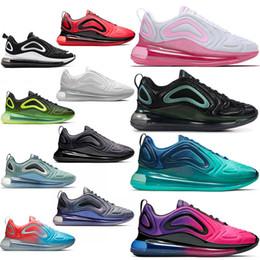 dfce7654 Nike air max 720 airmax 720s maxes Zapatillas Free Run Cojín para correr  Zapato triple s Blanco Negro Moda Hombre Zapatillas deportivas Diseñador de  marca ...