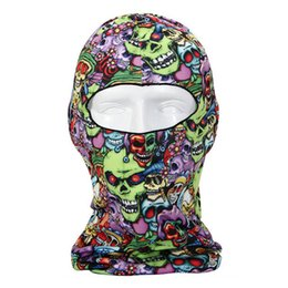 $enCountryForm.capitalKeyWord UK - 3D Skull Balaclava Cycling Full Face Mask Hats Helmet Windproof Breathable Paintball Snowboard Ski Shield Anti-UV Sun #45