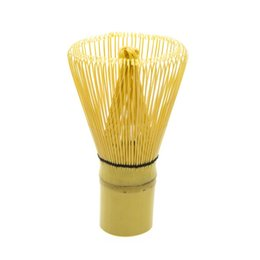 bamboo green tea UK - wholesale New Arrive Natural Bamboo Chasen Matcha Whisk Preparing For Green Tea Powder Chasen Brush Tool for Matcha