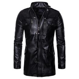 Clothing Motorcycle Jacket Australia - Retro Classic Motorcycle Jacket Men Pigskin Moto Jacket Motorcycle Clothing Biker Coats Windproof M-5XL