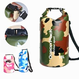 China 3 Styles Waterproof Dry Bag Backpack 2L 3L 5L 10L 15L 20L 30L Lightweight Bags Camouflage Backpack Sports Outdoor Sack For Kayaking M233Y suppliers