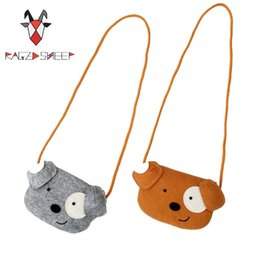 wholesale plain purses Australia - Wholesale- Raged Sheep Lovely one shoulder bag coin purse cute dog messenger bag baby accessoriesOnly your can be worthy of this lovely bag