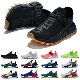 $enCountryForm.capitalKeyWord Australia - NMD HUMAN RACE boost shoes Casual Pharrell Williams Men's Women's Mc Tie Dye Solar Pack Mother designer Fashion golden men Sport Shoes