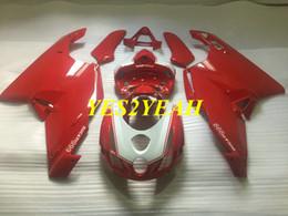 $enCountryForm.capitalKeyWord Australia - Injection mold Fairing body kit for DUCATI 749 999 03 04 ducati 749 999 2003 2004 ABS Red Fairings bodywork+Gifts DD43