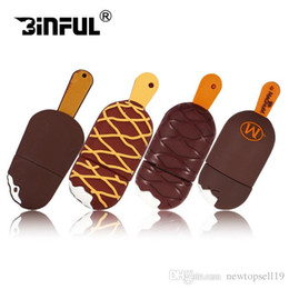 $enCountryForm.capitalKeyWord Australia - High quality Crazy hot food model USB flash drive cute chocolate model pen drive 4gb 8gb 16gb 32gb 64gb pendriver thumb drive