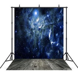 Flooring Accessories Australia - night cloud photography background wooden floor backdrops portrait for photograph accessories child baby shower backdrop photo studio