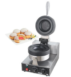 Wholesale commercial waffle maker, waffle machine, Donut Ice Cream Dessert,Italy Gelato Panini Press, Commercial Krapfen Warmer LLFA