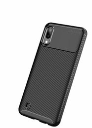 Fiber power online shopping - For Samsung Galaxy NOTE10 Pro S10 Plus S10E A8S M10 M20 MOTO G7 Power Play E6 Sony Xperia Compact Carbon Fiber Soft TPU Case Beetle Cover