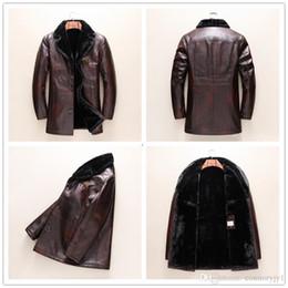 $enCountryForm.capitalKeyWord Australia - 2018 Autumn Luxury jacket Winter Hot Sale Long Sleeve Genuine Leather Jacket Casual Fashion Hip Hop Luxury Man Jacket Clothing M-3XL