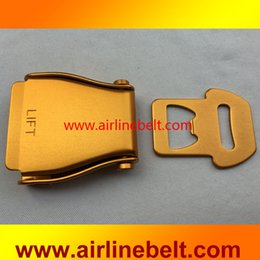 airplane bags NZ - Full colored Middle size airplane seatbelt buckle aircraft airline seat belt buckles for belt for bags free shipping