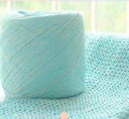 Colour Cotton Scarf Australia - Coloured pure cotton very soft baby wool milk cotton yarn medium thick baby knitting scarf Wool Hand Crochet