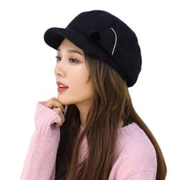 245d52fc73768 Slouch Hat Black Australia - Newest Hot HatWomen Bowknot Knitted Hat Winter  Warm Beret Baggy Beanie