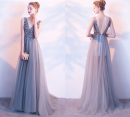 $enCountryForm.capitalKeyWord Australia - New Custom Long-Sleeved Fashion Sexy Backless Fish Tail Tormal Evening Dresses Gauze Embroidery Beads Catwalk Prom Big Tail Dresses