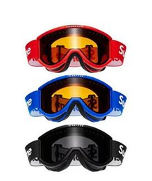 Wholesale sup off-road motorcycle mountain bike riding goggles ski windproof anti-fog double goggles
