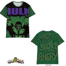 $enCountryForm.capitalKeyWord Australia - Marvel Avengers 4 Caption America Iron Man Raytheon Hulk Short Sleeve Summer Men Women Trend Clothing TX542 Cosplay Costumes T-Shirt