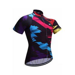 $enCountryForm.capitalKeyWord Australia - Cycling Tops Tour de France Felt Short Sleeves Cycling Jersey MTB Ropa Millot Quick Dry MTB Bike Wear Summer For Men Bicycle Clothing