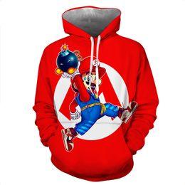 $enCountryForm.capitalKeyWord Australia - Cute Cartoon 3D Print Cosplay Costume 03 Hoodies Men Slipover sweatshirt Jacket Superhero Loose and comfortable
