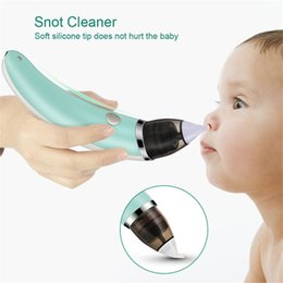 Wholesale Baby Nasal Aspirator Electric Safe Hygienic Nose Cleaner With 2 Sizes Of Nose Tips And Oral Snot Sucker For Children Protection