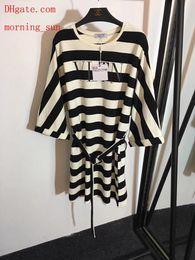 $enCountryForm.capitalKeyWord Australia - 2019 hot sale summer dresses Stripe splicing skirt high quality brand women clothes Hoodie skirt Casual women tracksuit ladies Hoodie