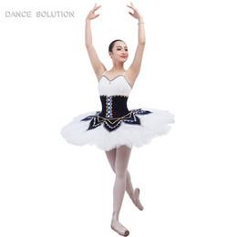 3319ad0d743 Solución de baile B17010 Tutú de ballet profesional para mujer Escenario trajes  de rendimiento Vestido de ballet clásico Pancake tutu