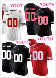26acc11f251 NCAA Ohio State Buckeyes OSU jerseys 27 Eddie George 2 Cris Carter 34  Carlos Hyde jersey MEN WOMEN YOUTH black red White football jersey