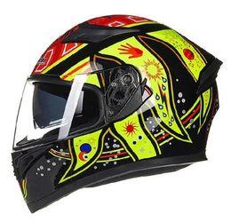 Red Full Face Helmets Australia - Autumn Winter New JIEKAI 316 Full Face Motorcycle Helmes Knight protection Motorcross Motorbike Helmet of ABS PC lens Visor