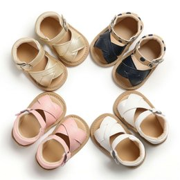 $enCountryForm.capitalKeyWord Australia - 2019 Newest Style Newborn Infant Baby Girls Summer Adorable Sandals Prewalker Non-slip Leather Shoes 0-18Months