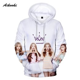 $enCountryForm.capitalKeyWord Australia - Aikooki K-POP MAMAMOO Hoodies Men Women Hooded Singers Hoodie Mens Sweatshirts Band Team MAMAMOO Hoody Polluvers Tracksuit Coats