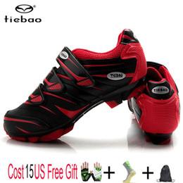 $enCountryForm.capitalKeyWord Australia - Tiebao Cycling Shoes Professional Men Women Bicycle Self-Locking MTB Mountain Bike Shoes Breathable Pedals Riding MTB Sneakers