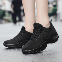 $enCountryForm.capitalKeyWord Australia - Casual Walking Shoes Outdoor Breathe Mesh Fashion Women Sneakers Spring Summer Comfort Wedge Platform Sport Shoe Sapato Feminino