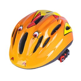 $enCountryForm.capitalKeyWord Australia - 1PC Kids Bicycle Helmets Children City Road Bicycle Kid Headpiece For Outdoor Sports Riding Skating Cartoon Helmets