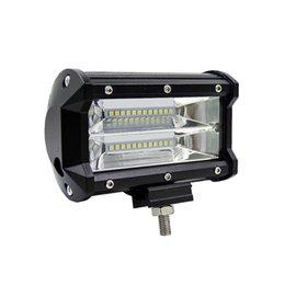 LOONFUNG LF92 72 W LED Luzes de Trabalho 12 V Barra de Luz de 5 Polegada 4D CONDUZIU a Lâmpada para Auto Lâmpadas de Nevoeiro para o Barco Do Trator OffRoad Carro Caminhão SUV ATV Motocicleta