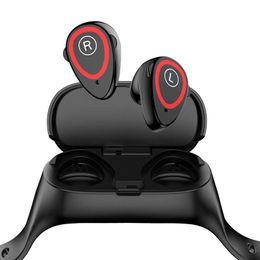m1 bluetooth 2019 - 30pcs M1 Ai Smart BT Dual earbuds Bracelet SH30 Smart Bracelet headset Tws Android IOS Fitness Bracelet Heart Rate Pedom