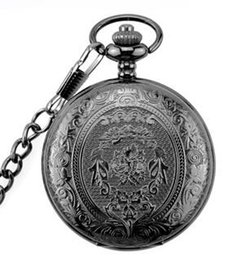 $enCountryForm.capitalKeyWord Australia - Free shipping new fashion classical carved flip openwork pocket watch retro necklace watch male and female student gift hanging watch pocket