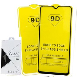 tempered glass iphone retail pack 2019 - Retail Packing Full Cover 6D 9D Tempered Glass Screen Protector AB Glue Edge to Edge for IPHONE XR XS XS MAX 6 7 8 PLUS