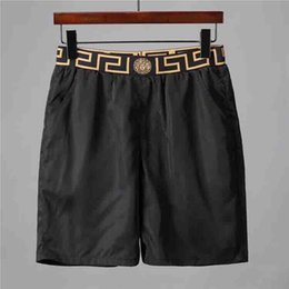 Wholesale swimsuit popular online – New beach shorts summer men s shorts trendy popular logo suit swimsuit men s beach pants swim board pants