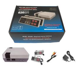 Vente en gros Nouvelle arrivée Mini TV peut stocker 620 console de jeu vidéo de poche pour consoles de jeux NES avec des boîtes de détail DHL
