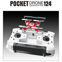 $enCountryForm.capitalKeyWord Australia - Mini Drone FQ777-124 Micro Pocket Drone 4CH 6Axis Gyro Switchable Controller RC toy RC helicopter