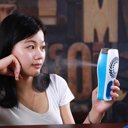 $enCountryForm.capitalKeyWord Australia - USB charging fan mini beauty cooling spray humidification refrigeration handheld air conditioning small fan confession artifact