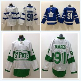 Toronto Maple Leafs John Tavares Jersey 91 Blue White Winter Classic  Centennial Classic Arenas 2018 Stadium Series Custom Name Man Woman Kid a4dd6bf6e
