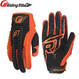 $enCountryForm.capitalKeyWord Australia - Riding Tribe Motorcycle Racing Gloves Elastic Microfiber Fabric Hand Full Finger Protective Gear Touch Screen Gloves CE-12