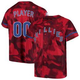 38cfecd73 Custom 2019 2020 NK Philadelphia 3 Bryce Harper Red Blue White Grey 17 Rhys  Hoskins 20 Mike Schmidt Phillies 27 Aaron Nola Baseball Jerseys