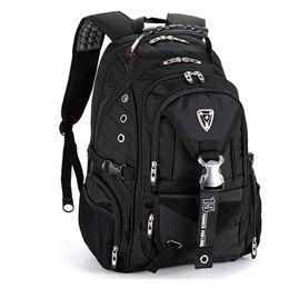 "$enCountryForm.capitalKeyWord NZ - Original quality Swiss Travel Bags Laptop Backpack 15.6"" Multifunctional Schoolbag Waterproof Mochila Notebook knapsack"