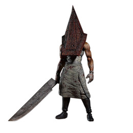 Red Figures Australia - Figma Sp055 Silent Hill 2 Red Pyramd Thing Pvc Action Figure Collectible Model Toy 15cm Kt3161