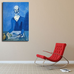Decorative pictures for beDrooms online shopping - Ascetic By Pablo Picasso HD Wall Art Canvas Poster And Print Canvas Painting Decorative Picture For Bedroom Home Decor Framework