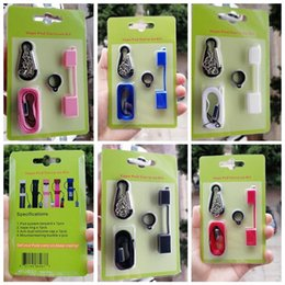 $enCountryForm.capitalKeyWord Australia - New Colorful Silicone Ring Lanyard Cap System Free Replacement Buckle Kit For E-cigarette Vape Pod Heat-not-Burn Evod EGo Battery